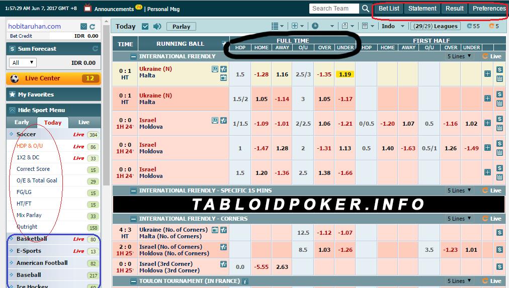 tabloid poker