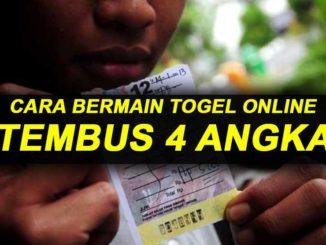 CARA BERMAIN TOGEL TEMBUS 4 ANGKA