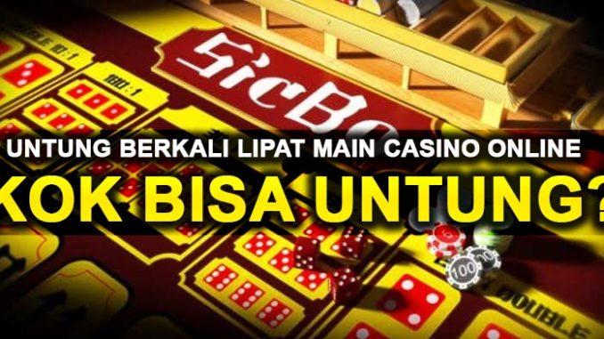 keuntungan bermain casino